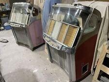 Pair of Wurlitzer 2000 Centennial 200 Select Jukeboxes for Restoration