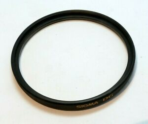SIGMA DG UV 62mm Lens Filter made in Japan Genuine SIGMA EX Multicoated