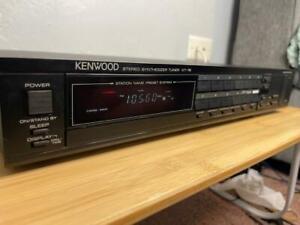 Kenwood Stereo Synthesizer Tuner - Model KT- 76