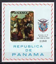 PANAMA 1968 - IMPERF. SOUVENIR SHEET SC# 485F MINT NEVER HINGED