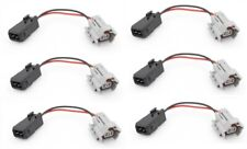 6 Toyota supra to Nissan 300zx Z31 Fuel injector connector harness adapters