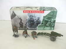 King and Country - Bastogne Battle of the Bulge Pack Howitzer - BBA09 - Set of 4