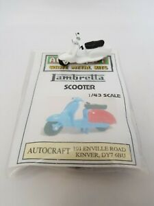 1/43 scale 7mm O gauge 1960s Lambretta Scooter DISCONTINUED metal model  kit