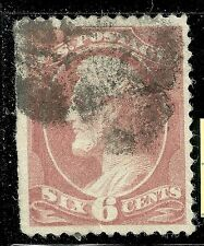 U.S. Postage stamp scott 208 - 6 cent Lincoln issue of 1882 - used