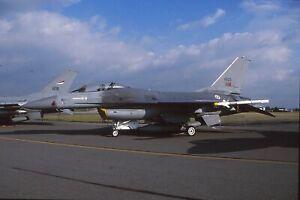 Original colour slide F-16A 15103 of 201 Esq. Portuguese Air Force