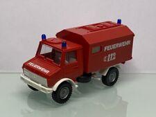 Roco Feuerwehr MB Unimog mit Funkkoffer 8182