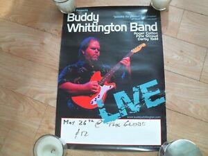 BUDDY WHITTINGTON - Blues Guitar Legend TOUR POSTER