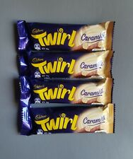 Cadbury Twirl Caramilk 4 x 39g UK dispatch