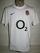 ENGLAND NATIONAL RUGBY TEAM 2011-12 HOME SHIRT NIKE JERSEY SIZE S