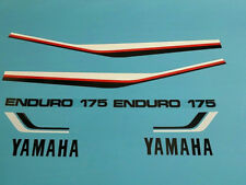 YAMAHA DT175 1981 TANK AND SIDE COVER DECAL GRAPHIC SET (#Y25)