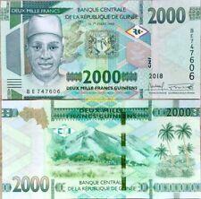 Guinea - 2000 Francs 2018 (2019) UNC - Pick New