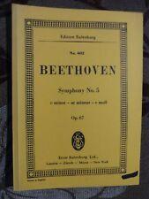 Symphony No. 5 in c minor, Op.67. Miniature, Ludwig Van Beethoven 3795766184, e3
