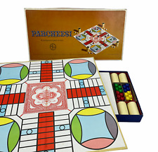 Vintage 1964 Parcheesi  Board Game Gold Seal Edition Selchow & Righter Complete