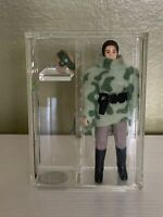 1984 Kenner Star Wars Leia (Combat Poncho), --, Loose Figure Graded AFA 85 NM+