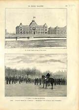 INAUGURATION Université Lyon / Felix Faure Legion D'Honneur Place Bellecour 1896