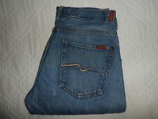 "W34 L32 ~ SEVEN 7 FOR ALL MANKIND Bootcut Mens Jeans SIZE Waist 34"" Leg 32"""