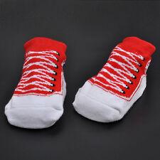 New Newborn Warm Baby Girs Boys Anti-slip Socks Shoes Sock 0-12 Months Crib Warm