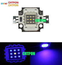 1pcs 10W Blue 450nm+White 6500K 8:1 High Power LED for Plant Grow Growth lights