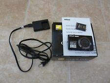 """Nikon COOLPIX Digital Camera S4000 12.0 Megapixels 3"""" screen Black W/Box!!"""