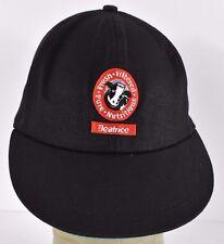 Black Beatrice Milk Logo Embroidered baseball hat cap adjustable Leather strap