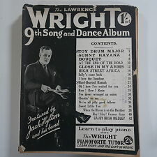LAWRENCE WRIGHT`s 9th song & dance album , cover feat. jack hylton