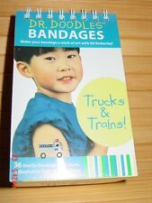 Truck Train Make your own Bandages Art Kit Dr Doodles Ed Emberleys Kid Toy Award