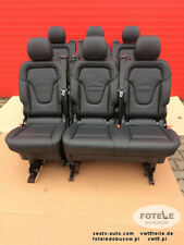 Rear Seats seat MERCEDES W447 V Class Bench Lugano Leather Set