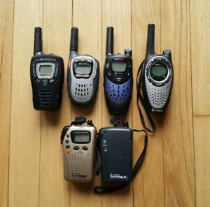 6x Mixed Lot of Cobra Walkie Talkies - MicroTalk