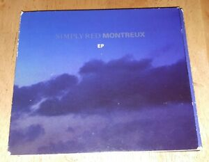SIMPLY RED 'MONTREUX' EP CD 1992 SPECIAL EDITION DIGIPAK soul pop