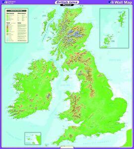 OS UK Map Series UK Physical