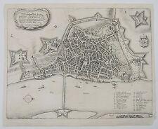 Mainz: antique city plan by Matthaus Merian, c1640