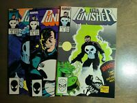 The Punisher 3 book lot #4,5,6 ~ Marvel Comics 1987/1988 ~ NM