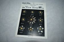 """Weaver Replacement Spur Rowels, Nine Assorted Pairs 7/8"""" - 2-3/16"""""""