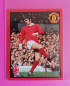 Panini Manchester United 2008 - ⚽ George Best ⚽ 'Red Devils' Sticker Card #120