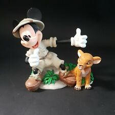 More details for rare disney animal kingdom mickey mouse with simba ornament