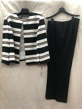 """TAHARI BY ARTHUR LEVINE PANT SUIT/SIZE 24W/INSEAM 32""""/NEW WITH TAG"""