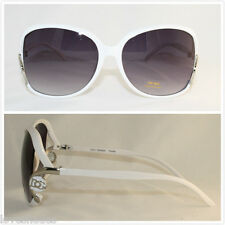 DG New Fashion Designer Sunglasses Shades Eyewear Big Square Hot Womens White