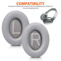 Replacement Ear Pads Cushion Earpads Earmuffs for Bose QuietComfort QC35/QC35