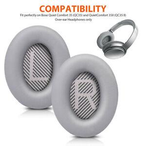 Replacement Ear Pads Cushion Earpads Earmuffs for Bose QuietComfort QC35/QC35
