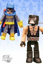 DC Direct Universe MiniMates Wave 4 Batgirl & Bane Mini Figure 2pk Toys