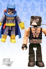DC Direct Universe MiniMates Wave 4 Batgirl & Bane Mini Figure 2pk Toys