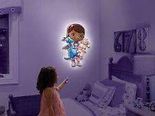 Wall Friends Disney Doc McStuffins Talking Room Light Interactive Wall Character