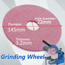Chainsaw Diamond Grinding Wheel Disc 145mm Dia. for Chain Saw 3/8'' 404 Pitch