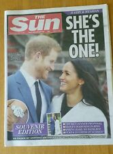 The Sun - Engagement of Prince Harry & Meghan Markle Announcement