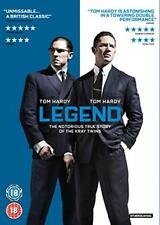 Legend DVD 2015 Region 2 Europe Tom Hardy Emily Browning