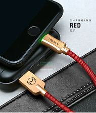 MCDODO Smart LED Auto Disconnect Lightning USB Charging Cable Cord iPhone X 8 7