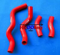 RED Radiator Silicone Hose for Kawasaki KLX250 1993-2010 KLX250S 2006-2014