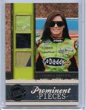 2011 PRESS PASS PROMINENT PIECES DANICA PATRICK RACE USED MEMORABILIA # 04/99