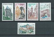 SÉRIE TOURISTIQUE - 1971 YT 1683 à 1687 - TIMBRES NEUFS** MNH LUXE