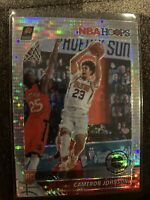 2019-20 NBA Hoops Premium Stock Silver Pulsar #208 Cameron Johnson Rookie Suns